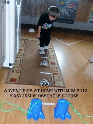 Những thử thách vượt chướng ngại vật cho trẻ – P3 (Ảnh: adventuresathomewithmum)