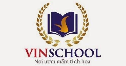 Logo trường Phổ thông Liên cấp Vinschool (Ảnh: Vinhomes)