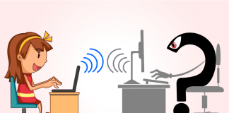 Nguy hiểm khi cho trẻ sử dụng Internet. Ảnh: Family Hawk Blog