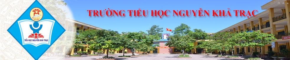 Trường Tiểu học công lập quận Cầu Giấy Nguyễn Khả Trạc (Ảnh: Website nhà trường)