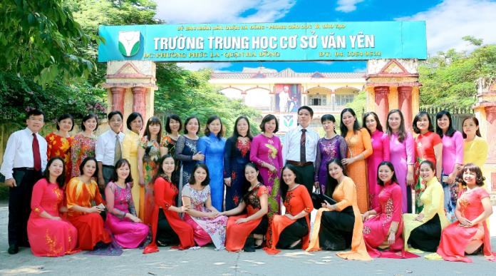 Văn Yên - Trường THCS công lập quận Hà Đông (Ảnh: website nhà trường)