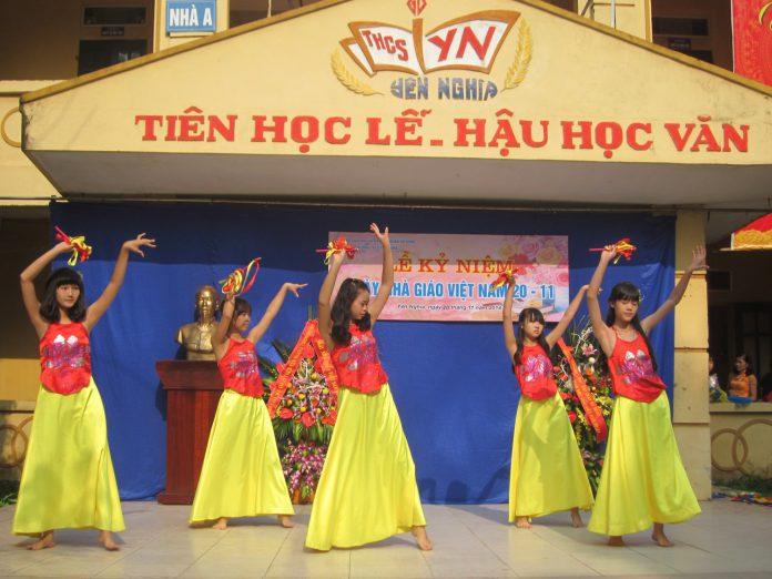 Yên Nghĩa - trường THCS công lập quận Hà Đông (Ảnh: website nhà trường)