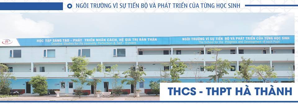 Trường Hà Thành - trường THCS, THPT tư thục quận Bắc Từ Liêm - Hà Nội (Ảnh: FB nhà trường)