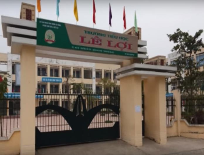 Trường Tiểu học công lập quận Hà Đông, Lê Lợi (Ảnh: YouTube)