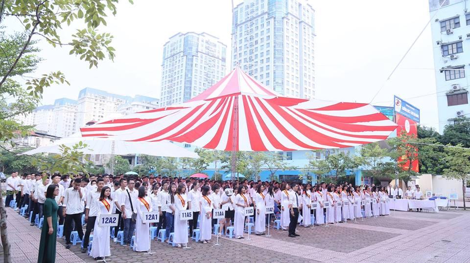 Trường Hà Thành - Trường THCS, THPT tư thục tại quận Bắc Từ Liêm - Hà Nội (Ảnh: FB nhà trường)