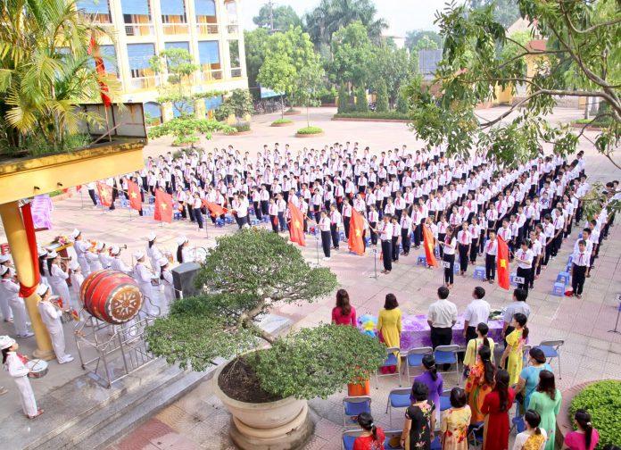 Kiến Hưng - trường THCS công lập quận Hà Đông (Ảnh: website nhà trường)