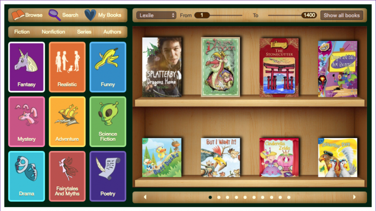 5 thư viện sách tiếng Anh online lớn nhất cho trẻ em