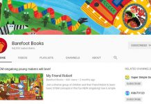 Kênh youtube Barefoot books