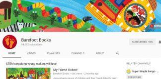 Kênh youtube Barefoot books
