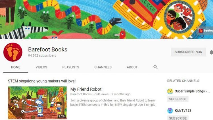 Barefoot Books – kênh sách hay của NXB cùng tên, cho trẻ học tiếng Anh