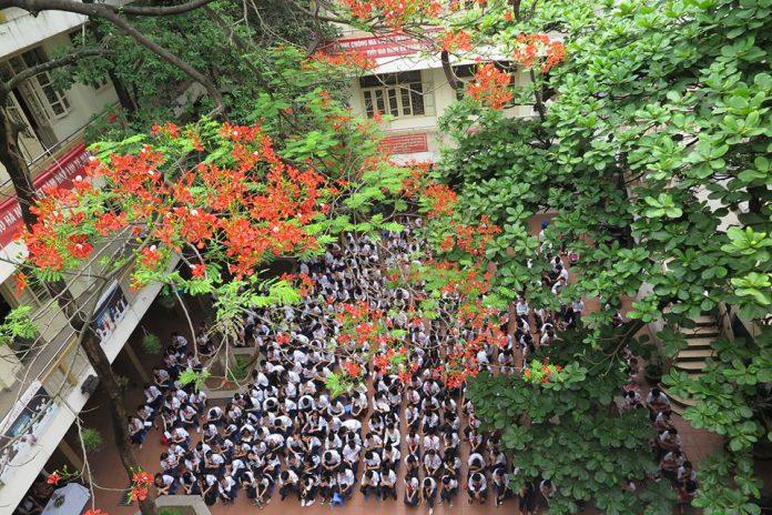 Chương Dương - Trường THCS công lập quận Hoàn Kiếm, Hà Nội (Ảnh: FB THCS Chương Dương)