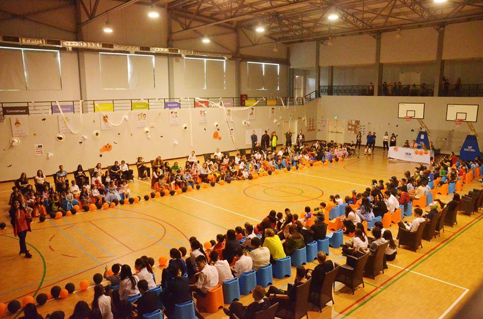 Cơ sở vật chất trường Quốc tế Việt Nam ISV, quận Hoàng Mai, Hà Nội (Ảnh: FB nhà trường)