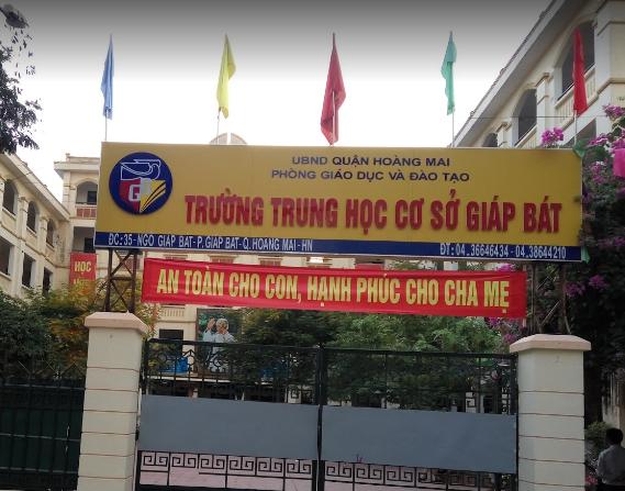 Giáp Bát - Trường THCS công lập quận Hoàng Mai - Hà Nội (Ảnh: Nam Trinh via Google Maps)
