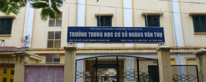 Hoàng Văn Thụ - Trường THCS công lập quận Hoàng Mai - Hà Nội (Ảnh: Đào Việt Dũng via Google Maps)