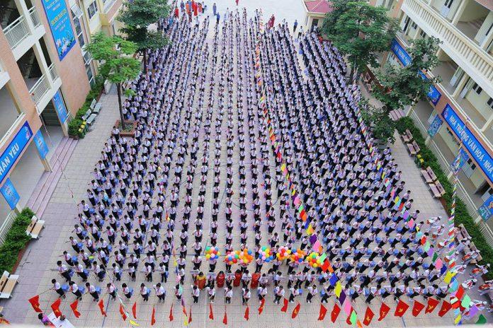 Mai Động - Trường THCS công lập quận Hoàng Mai - Hà Nội (Ảnh: FB Trường THCS Mai Động)