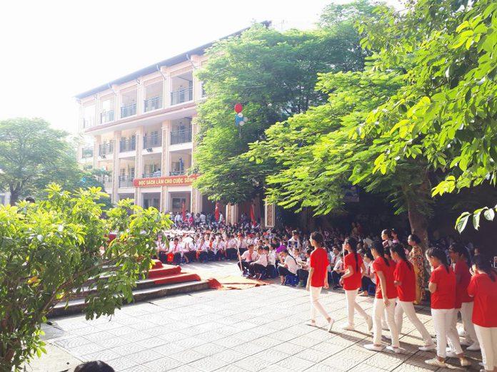 Nguyễn Du - Trường THCS công lập quận Hoàn Kiếm, Hà Nội (Ảnh: FB nhà trường)