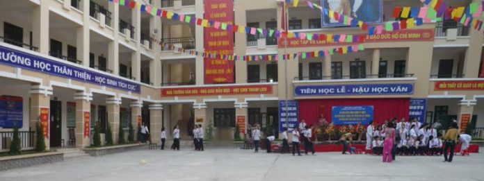 Nguyễn Phong Sắc - Trường THCS công lập quận Hai Bà Trưng, Hà Nội (Ảnh: FB THCS Nguyễn Phong Sắc)