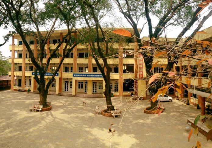 Phú Thượng - Trường THCS công lập quận Tây Hồ, Hà Nội (Ảnh: FB nhà trường)