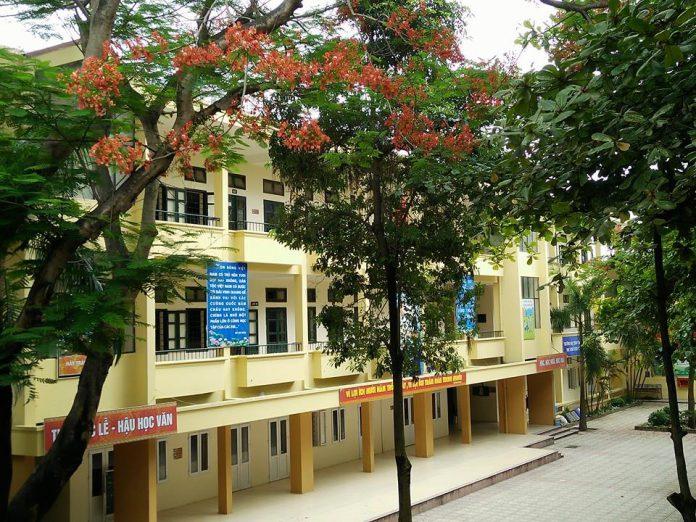 Quảng An - Trường THCS công lập quận Tây Hồ - Hà Nội (Ảnh: FB nhà trường)