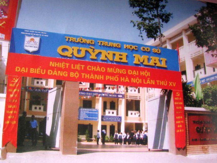 Quỳnh Mai - Trường THCS công lập quận Hai Bà Trưng, Hà Nội (Ảnh: FB nhà trường)