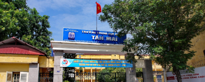 Tân Mai - Trường THCS công lập quận Hoàng Mai - Hà Nội (Ảnh: Đào Việt Dũng via Google Maps)