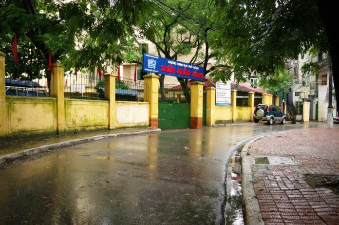 Trần Nhân Tông - Trường THPT công lập quận Hai Bà Trưng, Hà Nội (Ảnh: FB nhà trường)