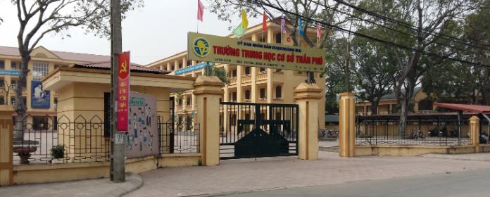 Trần Phú - Trường THCS công lập quận Hoàng Mai - Hà Nội (Ảnh: Hung Nguyen Viet via Google Maps)