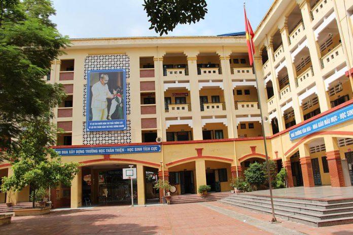 Vân Hồ - Trường THCS công lập quận Hai Bà Trưng, Hà Nội (Ảnh: FB nhà trường)
