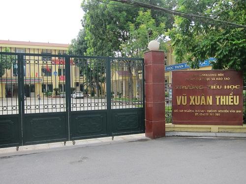 Vũ Xuân Thiều - Tiểu học công lập quận Long Biên, Hà Nội (Ảnh: Phường Sài Đồng, quận Long Biên)