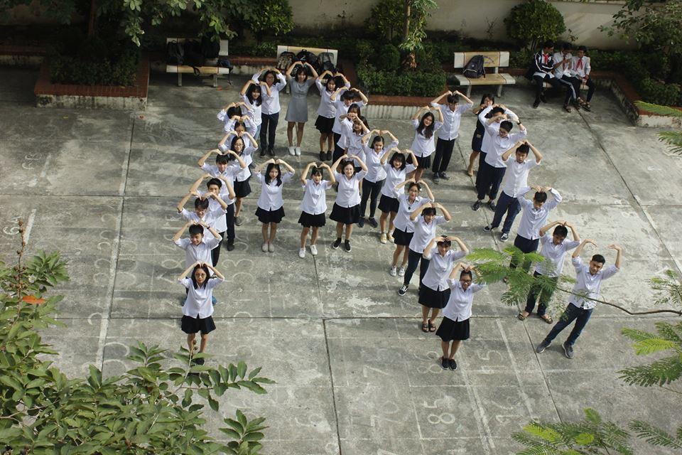 Cơ sở vật chất trường THPT Dân lập Bắc Hà, quận Đống Đa, Hà Nội (Ảnh: FB nhà trường)
