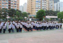 Cơ sở vật chất trường THPT Dân lập Lương Văn Can, quận Đống Đa, Hà Nội (Ảnh: FB nhà trường)