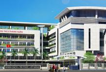 THCS Thanh Xuân, quận Thanh Xuân, Hà Nội (Ảnh: website nhà trường)