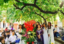 Trường Hoàng Diệu - Victoria, quận Hai Bà Trưng, Hà Nội (Ảnh: FB nhà trường)