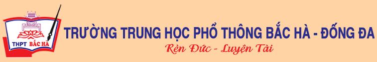 Logo Trường THPT Dân lập Bắc Hà, quận Đống Đa, Hà Nội (Ảnh: website nhà trường)