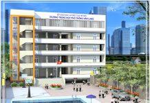 Trường THPT Dân lập Văn Lang, quận Ba Đình, Hà Nội (Ảnh: website nhà trường)