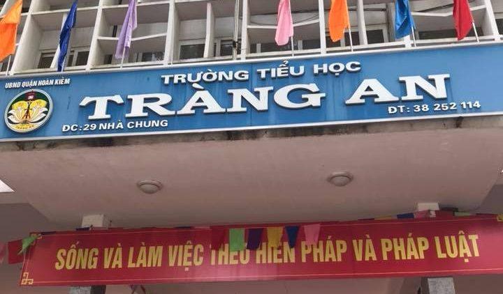 Tiểu học Tràng An – trường công chất lượng cao