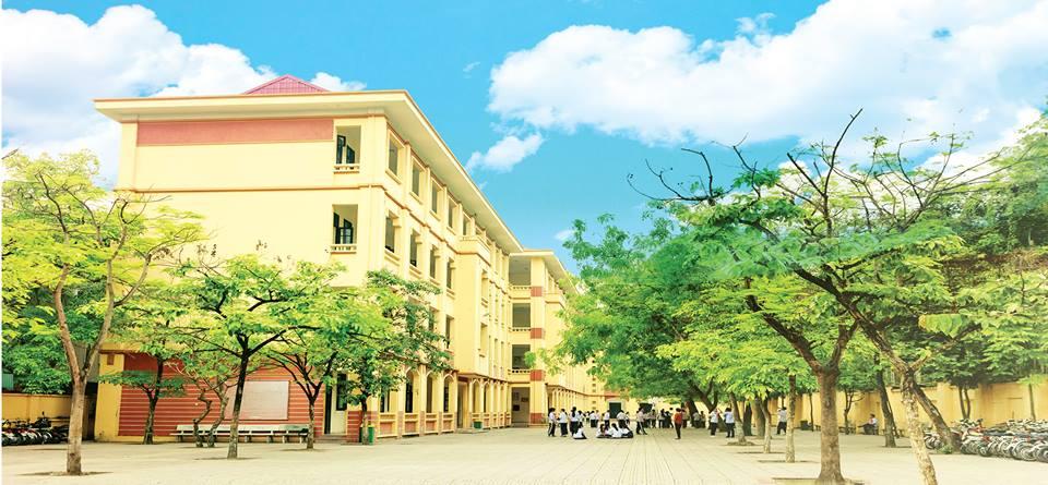 Cơ sở vật chất THCS Chu Văn An, quận Tây Hồ, Hà Nội (Ảnh: FB trường)