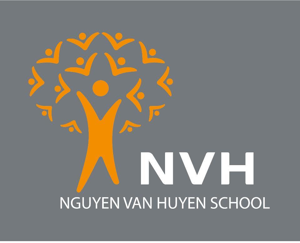 Logo trường Nguyễn Văn Huyên, trường dân lập liên cấp từ mầm non tới THPT, quận Đống Đa, Hà Nội (Ảnh: FB nhà trường)