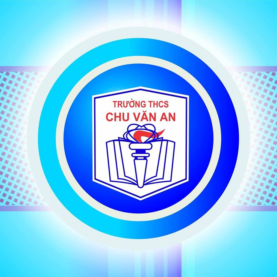 Logo THCS Chu Văn An, quận Tây Hồ, Hà Nội (Ảnh: FB nhà trường)