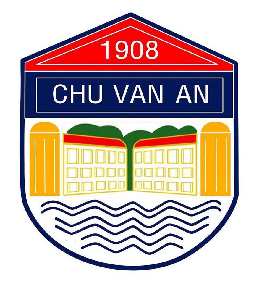 Logo THPT Chu Văn An, quận Tây Hồ, Hà Nội (Ảnh: FB nhà trường)