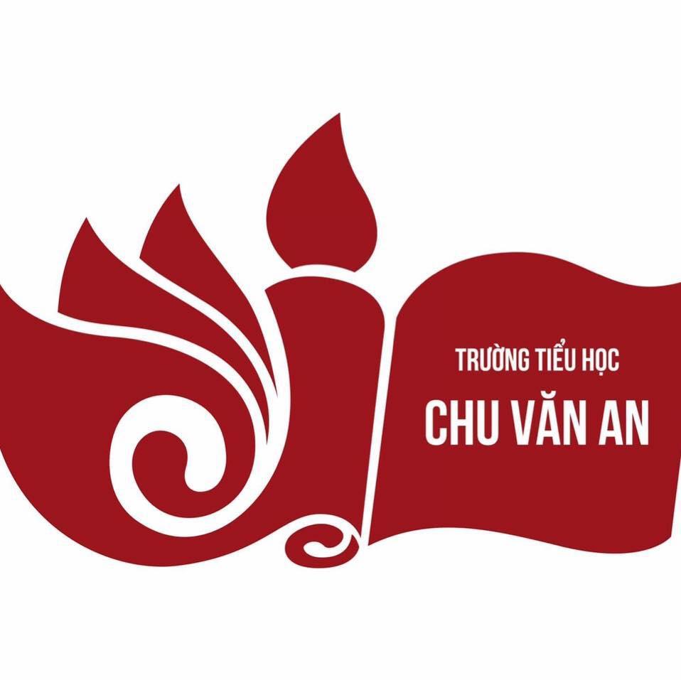 Logo Tiểu học Chu Văn An, quận Tây Hồ, Hà Nội (Ảnh: FB nhà trường)