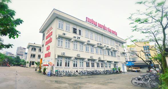 Trường Nguyễn Văn Huyên liên cấp từ mầm non tới THPT