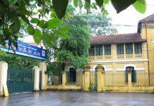THPT Chu Văn An, trường chuyên quận Tây Hồ, Hà Nội (Ảnh: Zing)