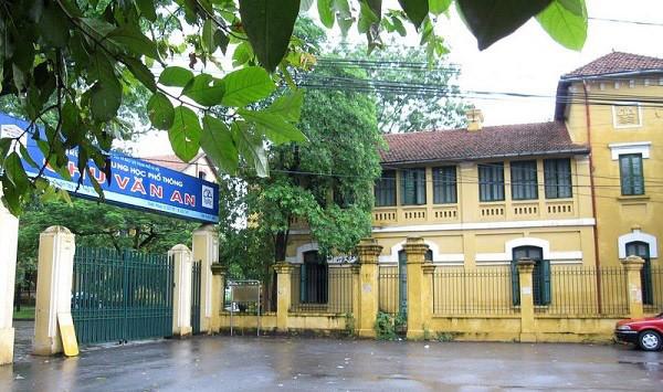 Hệ thống trường Chu Văn An – Tây Hồ (Hà Nội)