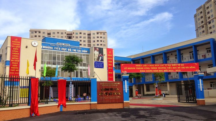 Tiểu học Đô thị Sài Đồng – trường công chất lượng cao