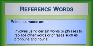 Kỹ năng đọc tìm mối liên hệ thông qua nhận biết các từ liên hệ (Ảnh: slideshare.net)