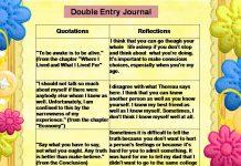 Nhật ký 2 cột (Double-entry Journals - Ảnh: )integratingfourthyearclassessoe2012 - PBworks)