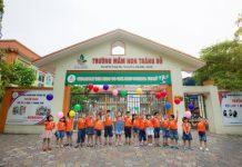 Mầm non Trăng Đỏ - Red moon tại quận Cầu Giấy - Hà Nội (Ảnh: website nhà trường)
