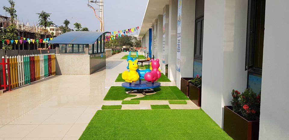 Cơ sở vật chất trường mầm non Bright Moon - Trăng Sáng tại quận Hà Đông, Nam Từ Liêm, Hoàng Mai, Hà Nội (Ảnh: FB trường)