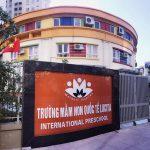 Cơ sở vật chất mầm non quốc tế Lucita, quận Bắc Từ Liêm, Hà Nội (Ảnh: website trường)